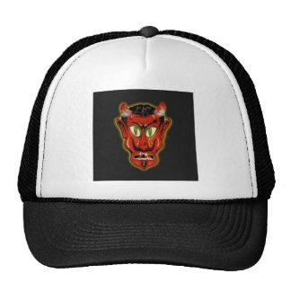 Diablo rojo gorras de camionero
