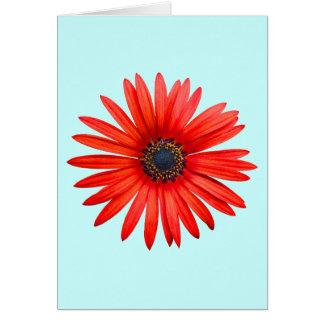 Diablo rojo tarjeta de felicitación