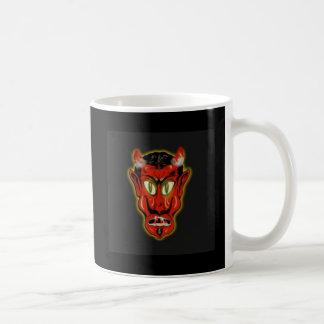 Diablo rojo taza