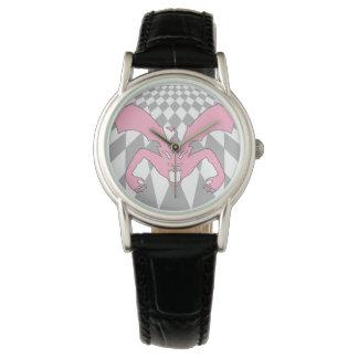 Diablo rosado relojes de mano