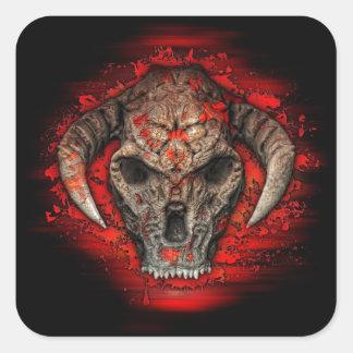 Diablo Square Sticker