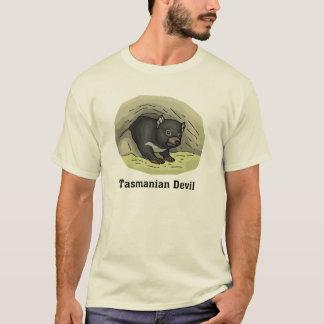 Diablo tasmano playera
