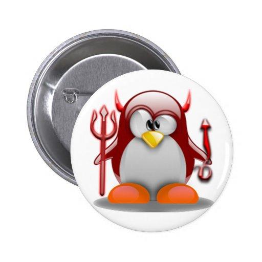 Diablo Tux (Linux Tux) Pin