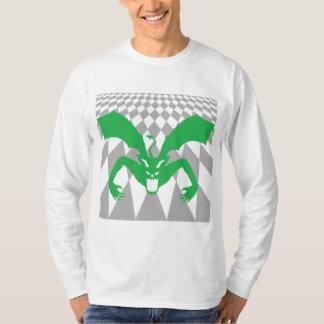 Diablo verde camisas