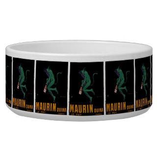 Diablo verde de Maurin Quina por Cappiello Comedero Para Mascota