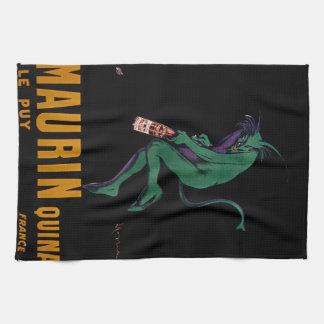 Diablo verde de Maurin Quina por Cappiello Toallas