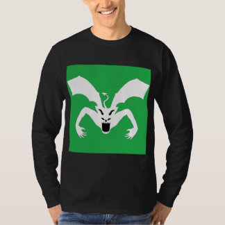 Diablo verde y blanco playeras