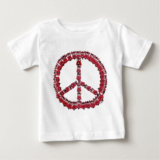 Diablos de la paz t-shirt