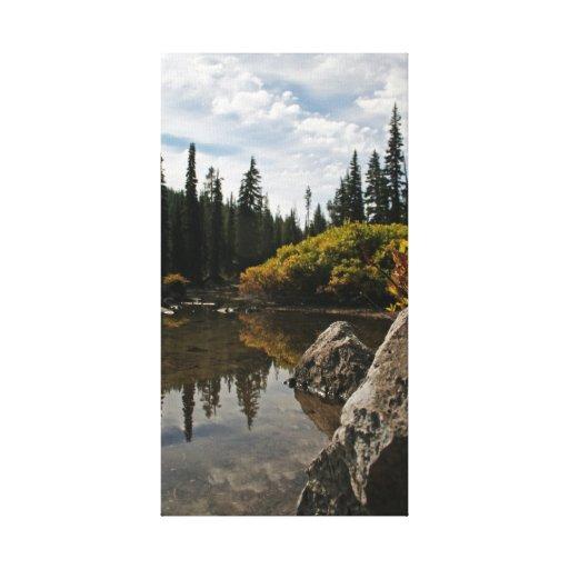 Diablos lago, Oregon Impresion En Lona