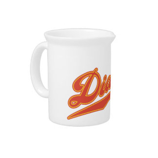 Diablos Script Beverage Pitchers