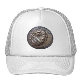 Diabolic medal of RetroCharms Trucker Hat