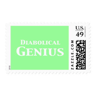 Diabolical Genius Gifts Stamps