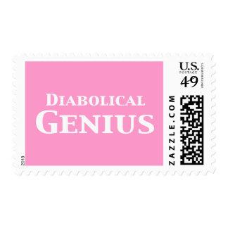 Diabolical Genius Gifts Stamp