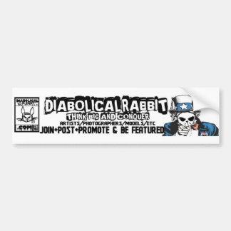 Diabolical Rabbit TBC Sticker