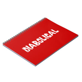 Diabolical Spiral Notebook