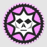 Diabolichix classic logo classic round sticker