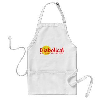 Diabólico Delantal