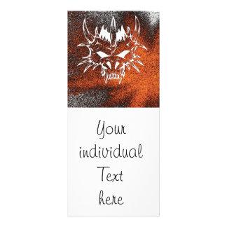 diabólico, fuego (c) lonas personalizadas