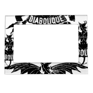 Diabolique Devil Graphic Art Design Fridge Magnet Magnetic Picture Frame