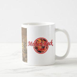 Diabolis - café de la roca fundida taza básica blanca
