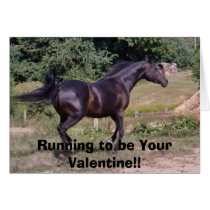 DIADHEMS DAAL, Running to be Your Valentine!! Card