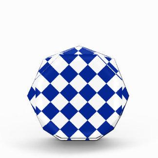 Diag a cuadros - azul blanco e imperial
