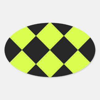 Stickers fluorescent