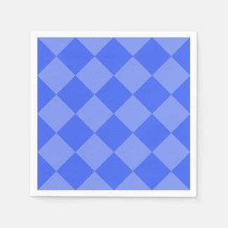 black and white checkered paper napkins