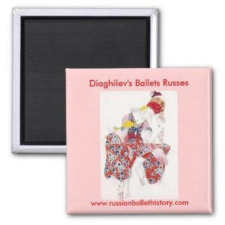 Diaghilev's Ballet Russes Magnet