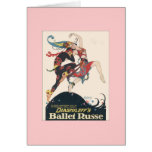 Diaghilev's Ballets Russes Greeting Card