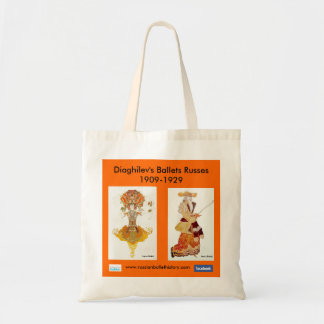 Diaghilev's Ballets Russes Tote Bag