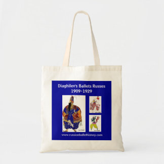 Diaghilev's Ballets Russes Tote Blue