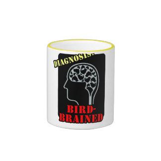 Diagnosis: Bird-Brained Ringer Mug