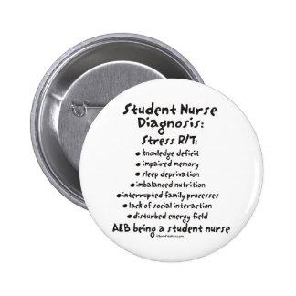 Diagnosis de la enfermera de estudiante: Tensión Pin Redondo De 2 Pulgadas