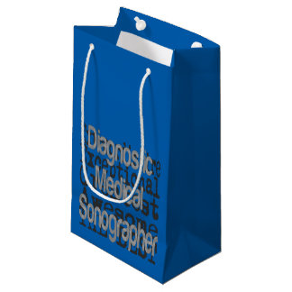 Diagnostic Medical Sonographer Extraordinaire Small Gift Bag
