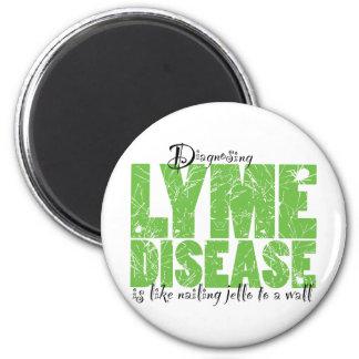 Diagnóstico de la enfermedad de Lyme Imán Redondo 5 Cm