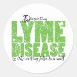 Diagnóstico de la enfermedad de Lyme Etiquetas Redondas