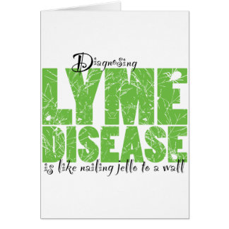 Diagnóstico de la enfermedad de Lyme Tarjetón