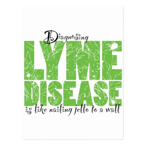 Diagnóstico de la enfermedad de Lyme Postales
