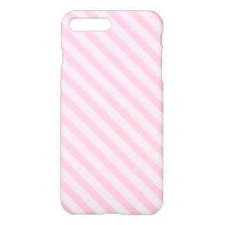 Diagonal Blossom Pink Stripes iPhone 8 Plus/7 Plus Case