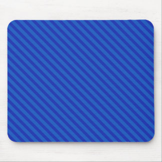 Diagonal Blossom Pink Stripes Mouse Pad
