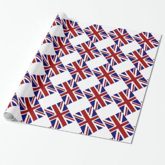 Diagonal BRITÁNICA de la bandera de Union Jack