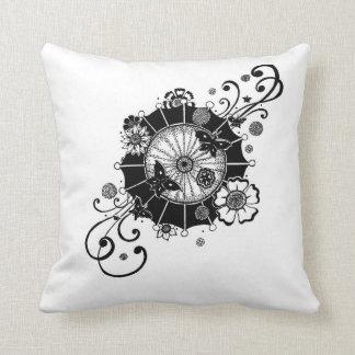 Diagonal Butterfly Design Pillow