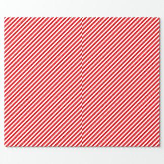Diagonal Candy Cane Stripes