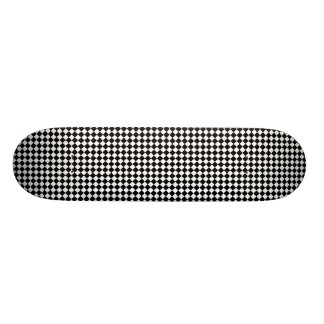 Diagonal Checkers by Kenneth Yoncich Skateboard