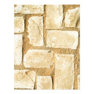 Diagonal Cobblestones Letterhead