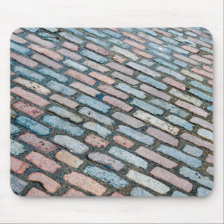 Diagonal Cobblestones Mouse Pad