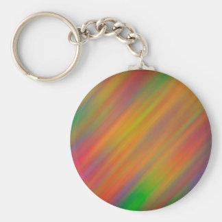 Diagonal Color Streaks Key Chain
