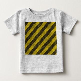 Diagonal Construction Hazard Stripes Infant T-shirt