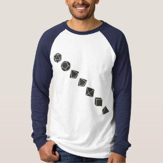 Diagonal Dice (Dark) T Shirt